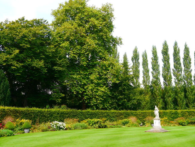 Anglesey Abbey Beauty In Nature Day Grass Green Color Growth Human Representation National Trust National Trust 🇬🇧 Nature No People Outdoors Sculpture Sky Statue Tranquility Tree