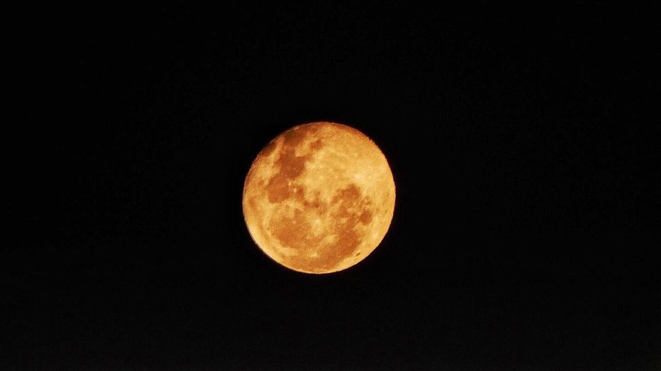 Moon Collection August 2016 Nighttime Photography Moonlight When The Moon Looks Like A Peach