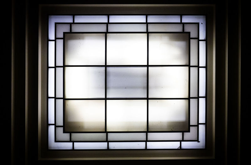 Light Architecture Black Background Blackandwhite Close-up Copy Space Dark Design Geometric Shape Glass - Material Grid Illuminated Indoors  Light Light - Natural Phenomenon Light And Shadow Lighting Equipment No People Safety Shape Sky Transparent White Color Window Window Frame