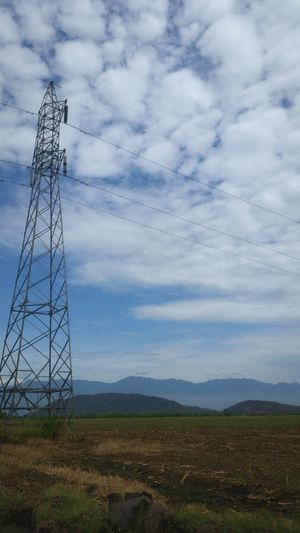 Cable Electricity  Electricity Pylon Technology Cloud - Sky Sky No People Landscape Fuel And Power Generation Bird Outdoors Rural Scene Day Nature Grass Hn Honduras Sky And Clouds Beauty In Nature Nature Low Angle View Tree Silhouette Sunset SilhouettesForest