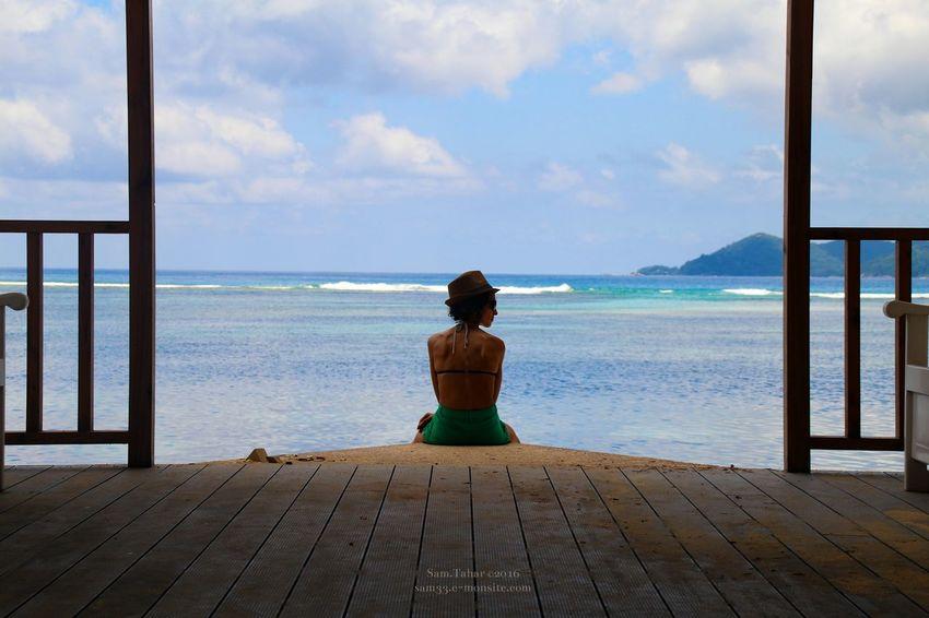 Quiet Beach Creativity Taking Photos That's Me Relaxing Seychellesisland Holiday Beach Photography Eye Em Best Shots