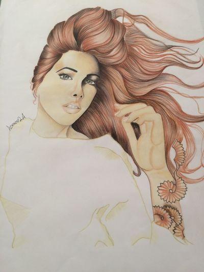 Art, Drawing, Creativity Face Illustration Marker Art