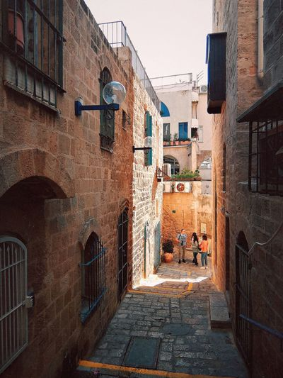 Jaffa Old Town Jaffa Tel Aviv Israel Alley Sunny City Residential Building Architecture Building Exterior Sky Built Structure Capture Tomorrow