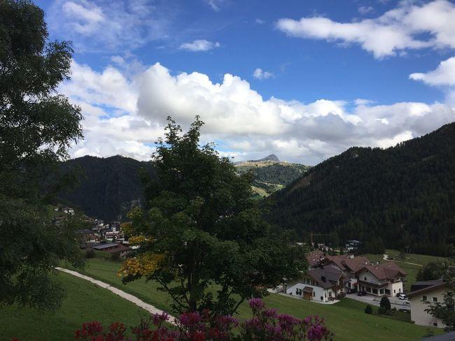 Dolomiten Mountain Landscape Cloud - Sky