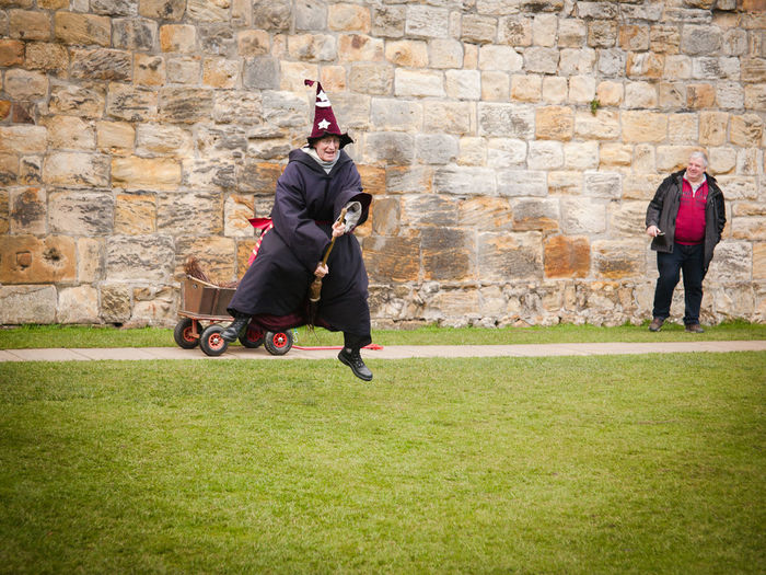 Zweinstein Harry Potter Broomstick Flying Lessons Alnwick Castle