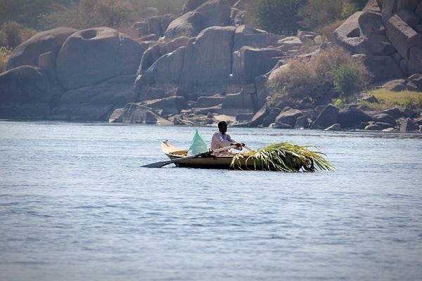 EyeEmNewHere River Nile Kayak One Person Nature Water Boat Aswan Egypt