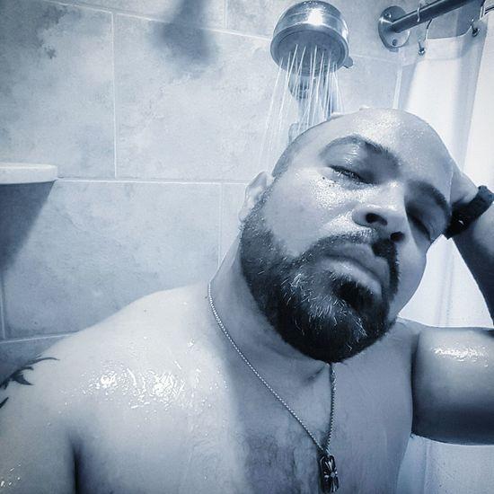 Shower Post Workout Steamy Malemodel  Blackandwhite Black And White Eye4black&white  Boudoir Photography Boudoir Self Portrait