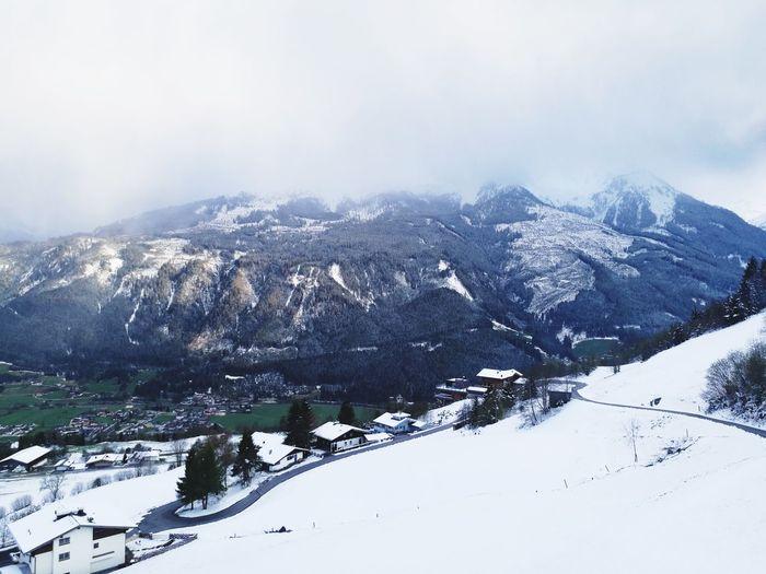 Snow Winter Mountain Cold Temperature Nature Frühling Aussicht Genießen Landschaft Austria Outdoor Photography Jahreszeiten MAI Pinzgau EyeEmNewHere Break The Mold