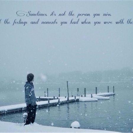 It's snowing outside ❄️❄️❄️❄️😘