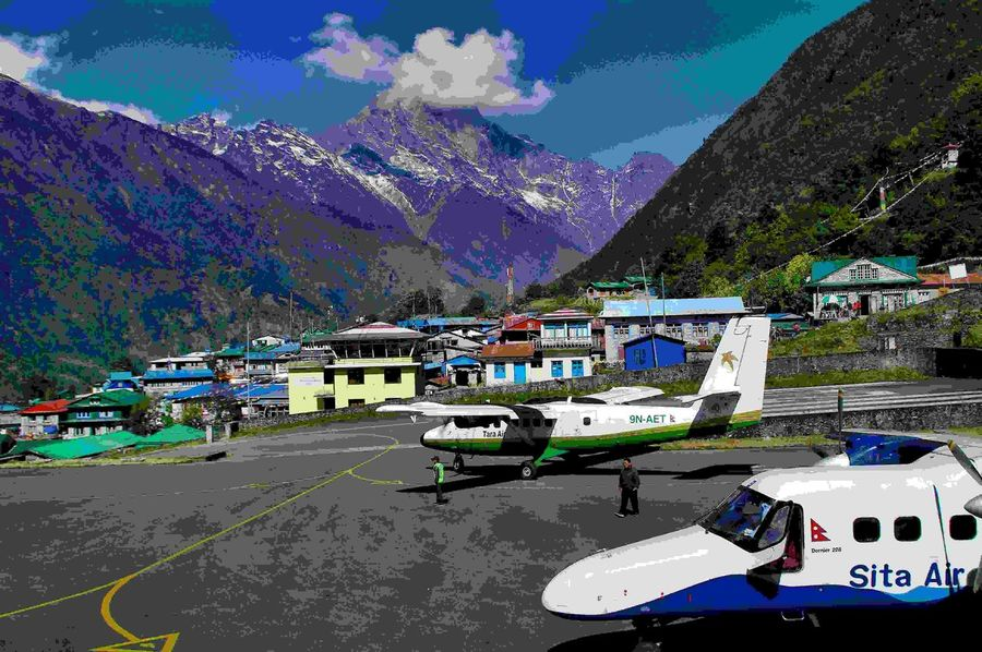 Lukla Himalaya Nepal AMPt - My Perspective
