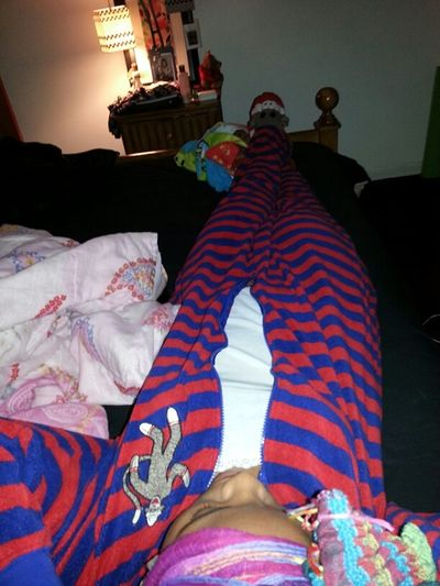 im such a big kid... im just coolin for the night