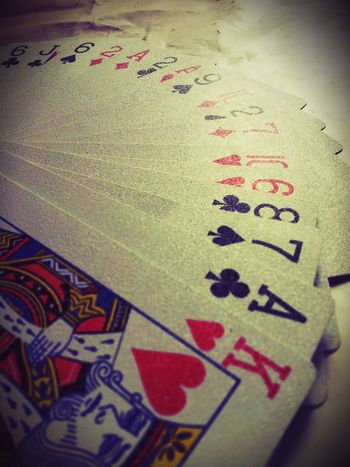 """""""We cannot change the cards we are dealt. Just how we play the hand."""" Cards Phtotography"""