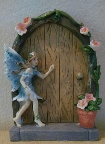 Beauty Is In The Eye Of The Beholder Close-up Fairies Fairytale  Fairytales & Dreams Knocking On A Heaven's Door Knock Knock! Who's There?! Fairy Door Fairy House