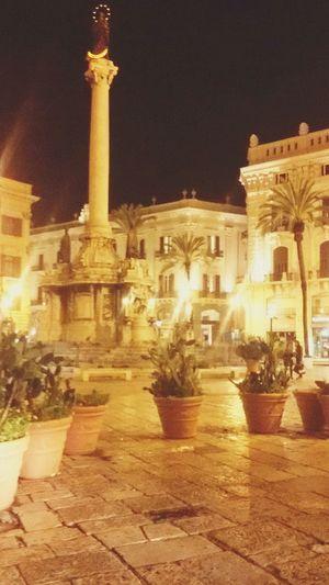 Piazza San Domenico, Palermo, Sicilia. Palermo Palermo By Night Night Sicilia Sicily Piazza San Domenico