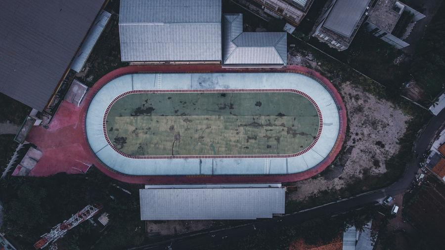 Roller skates stadium
