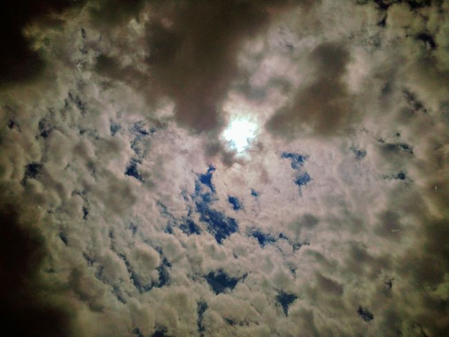 View thru my sunroof Nature Cloud - Sky No People Day Low Angle View Outdoors Sky