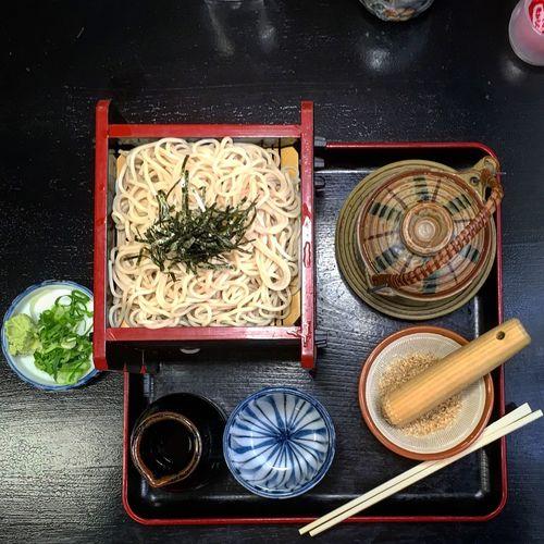 Soba Noodles Served For Lunch