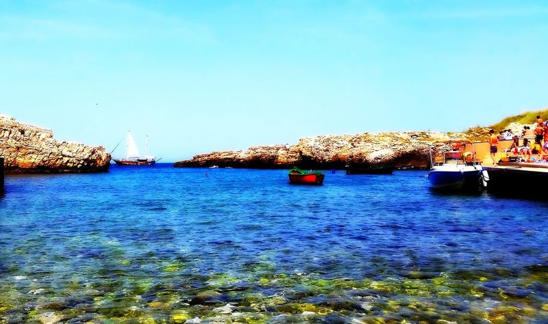 Cala Paura Idilliac Polignano A Mare Puglia Sea Vessel