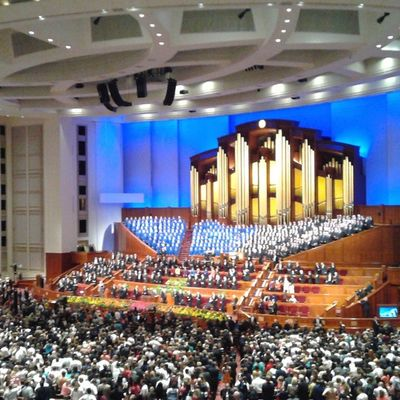 I thank thee, O God for a prophet. Sharegoodness Prophet Ldsconf Lds Generalconference Jesuschrist Mormon Conferencecenter Architecture