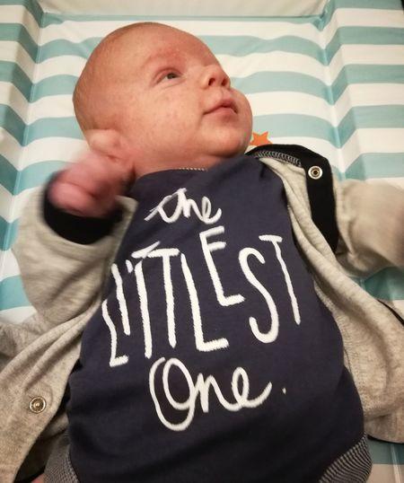 Full length of cute baby boy