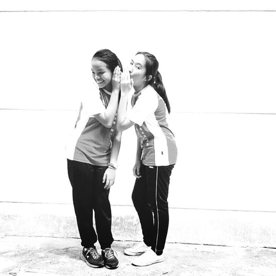 Bestfriend talks, no interuptions please. Just my luck, I have a sister like her✌❤❤□□□ Bestie  Best Friends.? No.! Sisters <3 Blackandwhite Photography B&w Photography