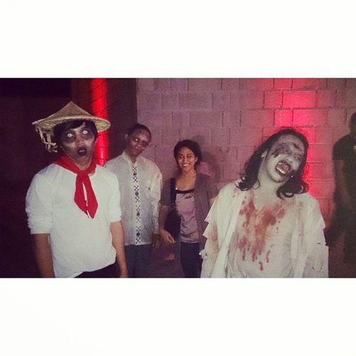 A different way to start February Screamparkmanila Halloweenhaunts 1stdayoflovemonth