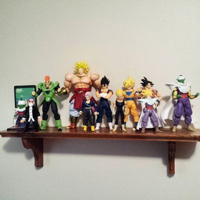 Got my DBZ shelf done as well! Dragonballz Dragonball DBZ Shelfie Toys Toyphotography Toypizza Toysarehellasick Toycollector Toycommunity Toycollection