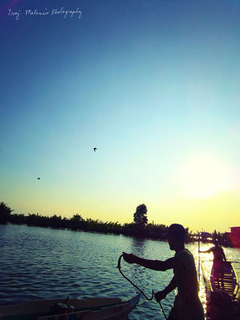 Narrativeclip Narrativeclip2 Malolos Bulacan, Philippines Eyeem Philippines Fisherman Fishermen Sunset Sunset_collection