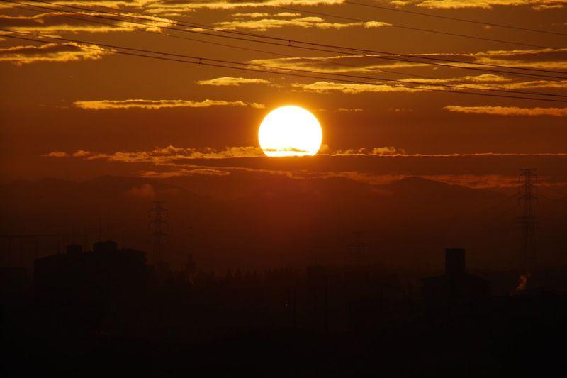 Sun Sunrise 淀川