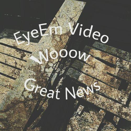 Amazing news, thanks a lot EyeemTeam Danielsimba EyeEm Team EyeEm The EyeEm video is on... wooooo