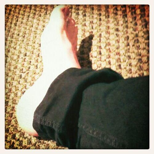 Feet..duh!!