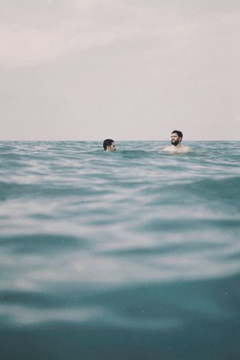 In you I'm lost Sea Water Nature Sky Scenics - Nature Land Swimming Outdoors Day Travel Tranquility Underwater Seascape Beauty In Nature