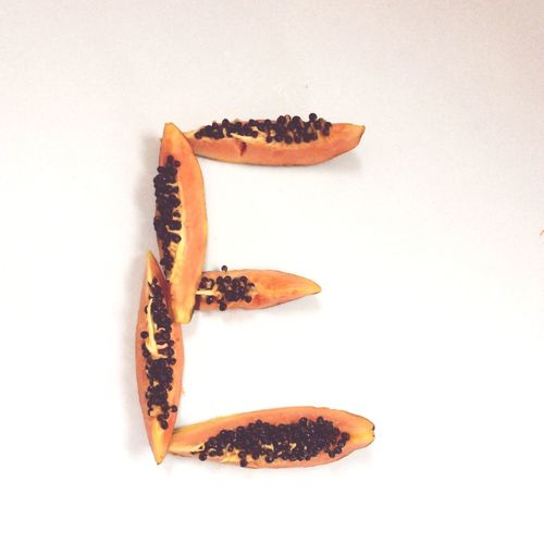 Papaya Playing With Food Creativity Letter E