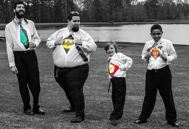 Comic Books Comicbookheros Full Length Standing Day Funny Moments Blackandwhite Black&white Blackandwhitephotography Blackandwhite Photography Selective Color People Outdoors Dressed Up