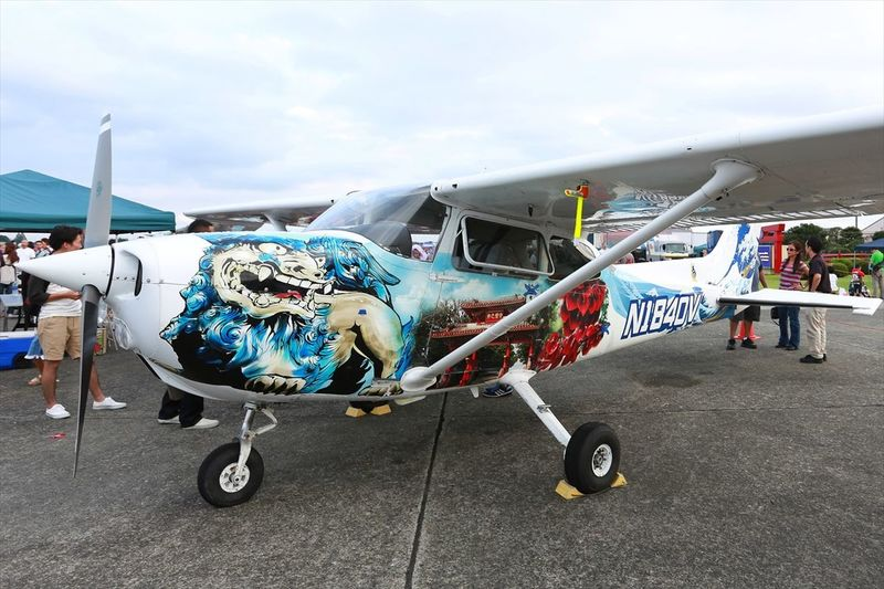 Cool Japan ♪(´∀`) 週後半も頑張りましょう! Airplane Art Japan Streamzoofamily