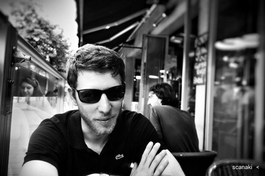 Scanaki Portrait Sony Qx100 Blackandwhite Photography Cheese! Picoftheday Portrait Of A Friend Shades Of Grey Faces Of EyeEm Learn & Shoot: Layering Qx100 Coffee Time Paris Life أصدقاء صورة 肖像画 портрет Portrait_by_scanaki Stories From The City The Portraitist - 2018 EyeEm Awards