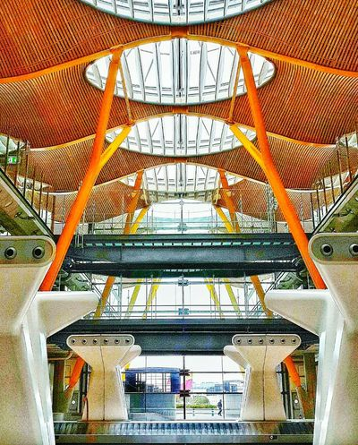 Airport Architecture Spain ✈️🇪🇸 Barajasairport Europe