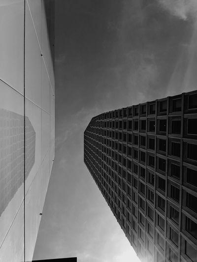 City Modern Skyscraper Sky Architecture Building Exterior Cloud - Sky