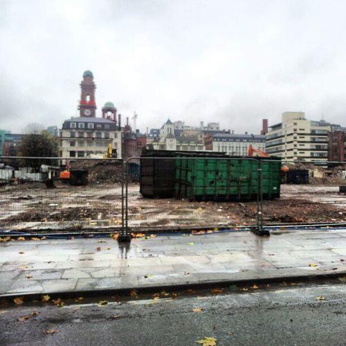 BBC Manchester Demolition Almostfinished OxfordRoad