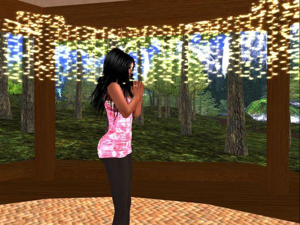 Secondlife Virtual Reality Virtual Yoga Yoga Yoga Pose Yoga Position
