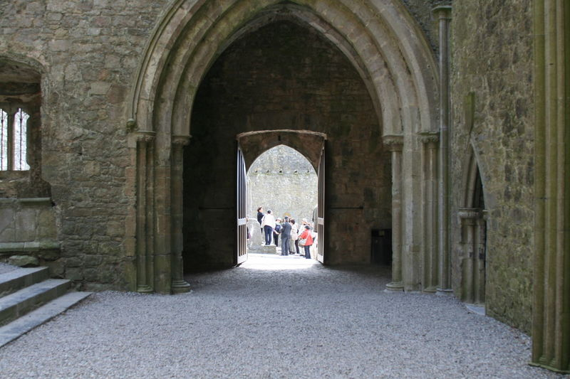 Adult Arch Architecture Archway Built Structure Day Historical Building Ireland Irish Men Outdoors People Real People Rock Of Cashel The Way Forward Tourism Travel Tunnel Two People