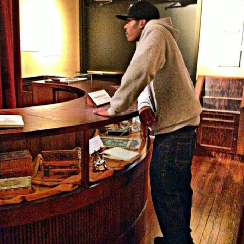 Tryna get bout 10 of these $1 hotel rooms lol. GreensboroHistoricMuseum