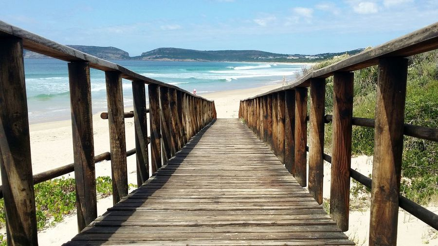 Going to the beach in Plettenberg Bay, Southafrica Enjoying Life Learn & Shoot: Balancing Elements Blue Sky EyeEm Best Shots - Nature Tranquil Scene Escapism Southafrica Plettenberg Way To The Beach Wooden Path Waves, Ocean, Nature Showcase March Landscapes With WhiteWall Things I Like The KIOMI Collection Blue Wave The Great Outdoors With Adobe The Architect - 2016 EyeEm Awards The Great Outdoors - 2016 EyeEm Awards The Essence Of Summer Fine Art Photography Color Of Life Pivotal Ideas My Year My View Live For The Story Sommergefühle Perspectives On Nature Go Higher