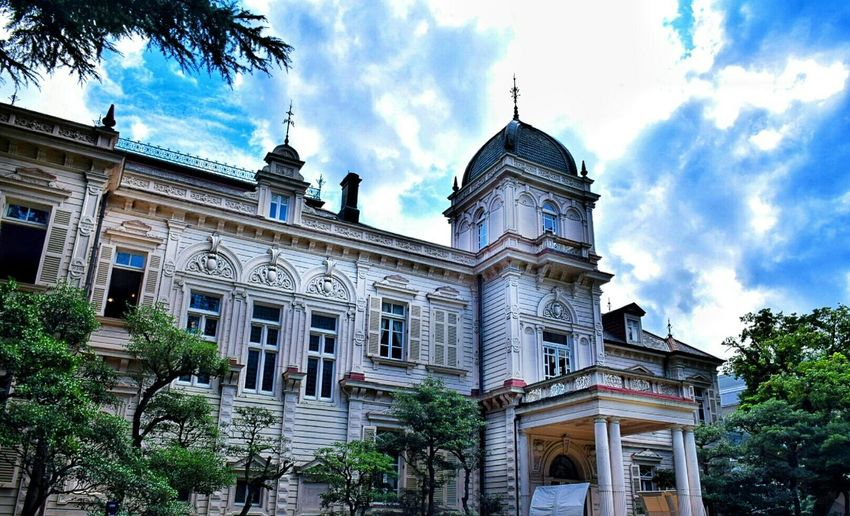Antique Mansion Building Taking Photo Beautiful Places Enjoying Life