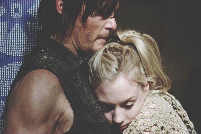 The Walking Dead Norman Reedus Emily Kinney ❤️