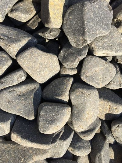 Close-up Directly Above Full Frame Gray Rocks Large Group Of Objects Outdoors Rock Rocks Stone - Object Sunlight