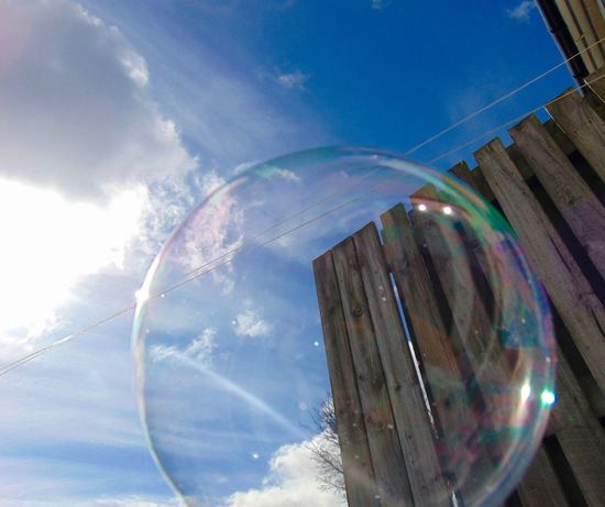 Blue Bubble Bubble Play Bubbles Childhood Circle Cloud Cloud - Sky Clouds And Sky Day Fun Day Lens Flare Low Angle View No People Outdoor Playtime Outdoors Play Play Time Reflection Sky Sky And Clouds Sun Sunlight Sunny Day Sunny Day☀