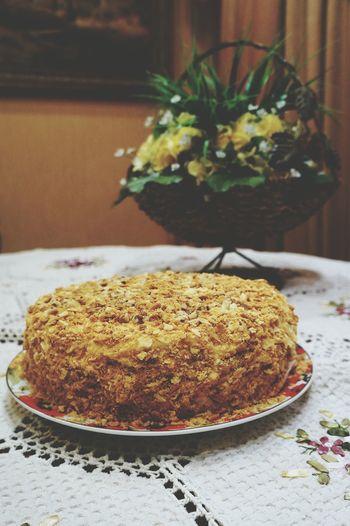 Дело рук моих! наполеон домашний торт Napoleoncake