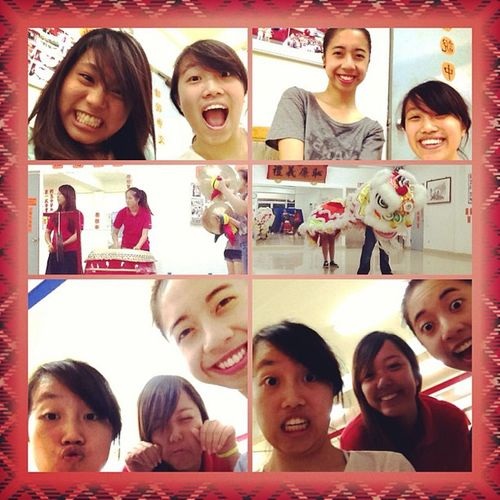 Lion dance with my favorite people :) @chelle_sd @yujeshi LD Family Fridaynights  Ihateyoukenrick