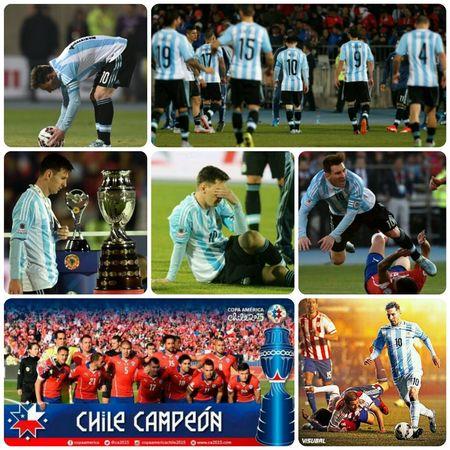 Still number one. Argentina Albiceleste CopaAmérica CopaAmérica2015